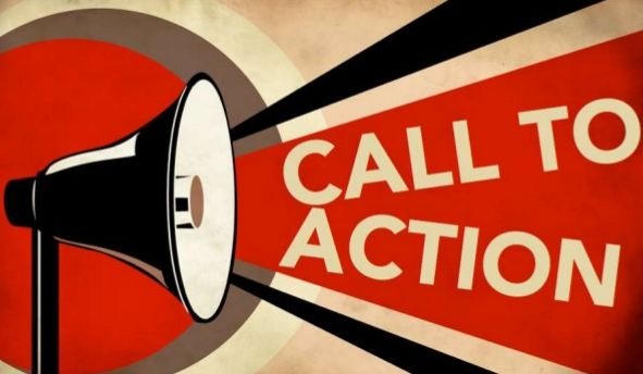 Website call to action